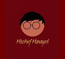 Harry Potter Mischief Managed by pegahahaha