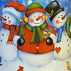 3 Happy Snowmen by Susan S. Kline