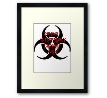 Zombie Infection Framed Print