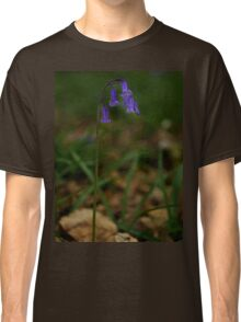 Single Bluebell in Prehen Woods, Derry Classic T-Shirt