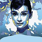 Audrey Hepburn by Rich Anderson