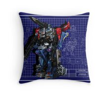 Powermaster Optimus Prime  Throw Pillow