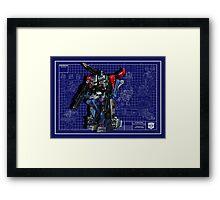 Powermaster Optimus Prime  Framed Print