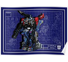 Powermaster Optimus Prime  Poster
