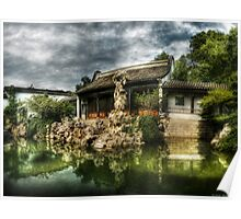 The Chinese Garden Poster