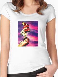 Dawn Of A New Season Women's Fitted Scoop T-Shirt