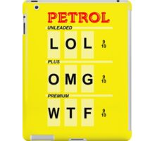 Humorous Petrol Price iPhone Case iPad Case/Skin