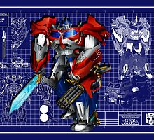 Beast Hunters Optimus Prime  by Draconis130