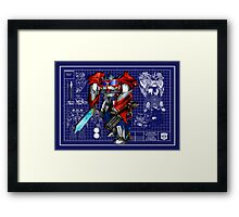 Beast Hunters Optimus Prime  Framed Print