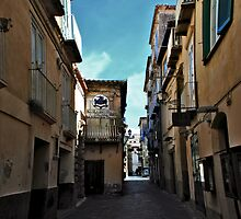 Piccolo Universita Italiana alleyway by BizziLizzy