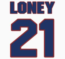 National baseball player James Loney jersey 21 T-Shirt