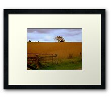 Way Up On the Hill......   ^ Framed Print