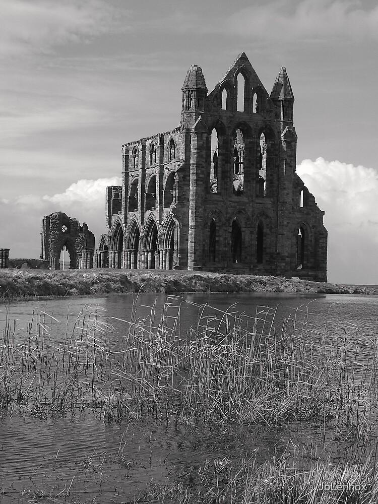 Whitby Abbey iii by JoLennox