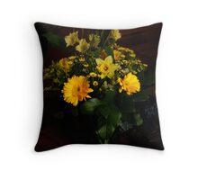 Easter Bouquet Throw Pillow