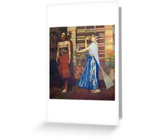 Thai Dancers Greeting Card