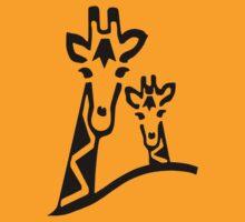 Giraffe T-shirt by parko