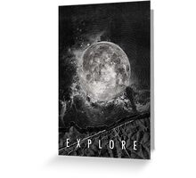 Explore the Moon Greeting Card