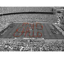 Script Ohio Photographic Print
