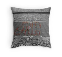 Script Ohio Throw Pillow