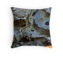 Where Rocks have Spun Throw Pillow