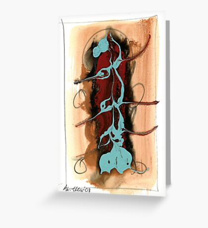 painting 219 Greeting Card