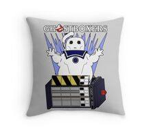 Ghostboxers Throw Pillow