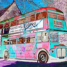From London to Burton Agnes Hall - Funky Bus by Merice  Ewart-Marshall - LFA