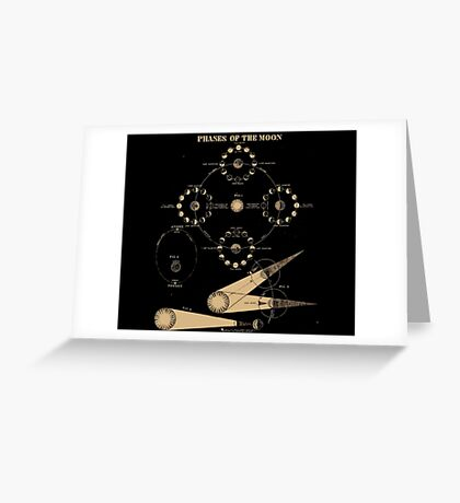 Smith's Illustrated Astronomy - Phases of the Moon - Page 32 Greeting Card