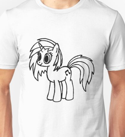 DJ-Pon3 Vinyl Scratch, which is best? colored, blue, black or white Unisex T-Shirt