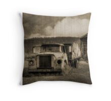Latsha Lumber Company - Antique Throw Pillow