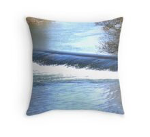 River Severn Throw Pillow