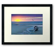 Mary's Shell......Cleveleys Framed Print