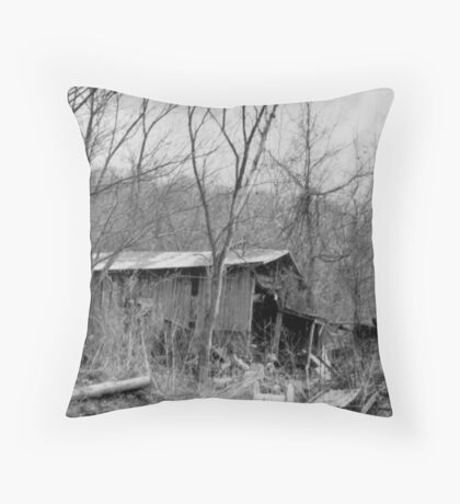 The Olden Days Throw Pillow