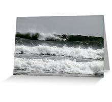 Three Layer Surf Greeting Card