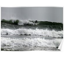 Three Layer Surf Poster