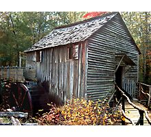 Cable Mill in Smoky Mountains Photographic Print