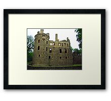 Huntly Castle Framed Print