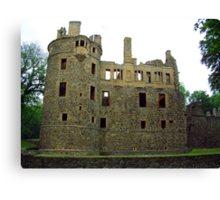 Huntly Castle Canvas Print