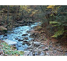 Little Pigeon River in Smoky Mountains Photographic Print