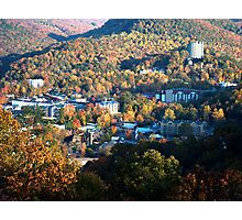 Gatlinburg, Tennessee in the Fall Photographic Print