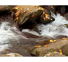 Mountain Stream in the Fall Photographic Print
