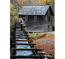 Mingus Mill in the Fall Photographic Print