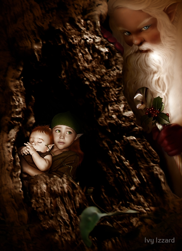 Santa Claus is coming to town by Ivy Izzard