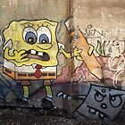 Spongebob Tagged-pants...  by Brad Hutchings