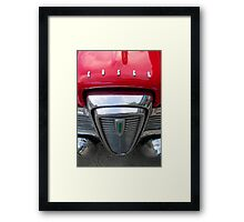 Red Edsel Framed Print