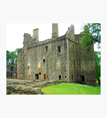 Huntly Castle II Photographic Print