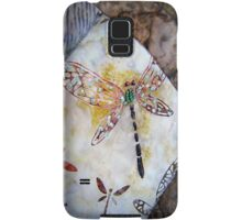 BEADED DRAGONFLY QUILT DETAIL Samsung Galaxy Case/Skin