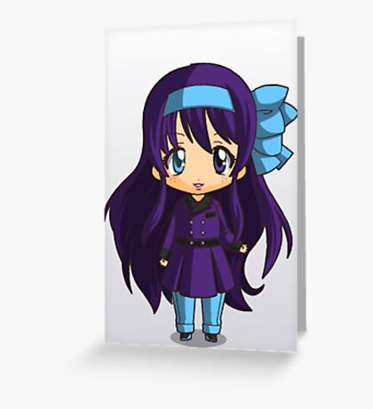 Abby chibi Greeting Card