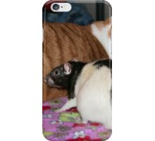 Why is your tail all furry?  iPhone Case/Skin