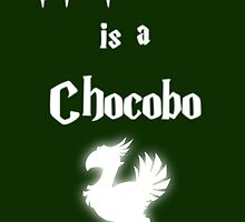 My Patronus is a Chocobo by OuroborosEnt
